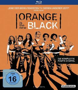 Orange is the New Black - 5. Staffel Blu-ray Cover