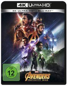 Avengers - Infinity War 4K UHD Cover