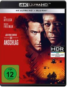 Der Anschlag 4k UHD Blu-ray Cover