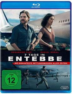 7 Tage Entebbe Cover Blu-ray