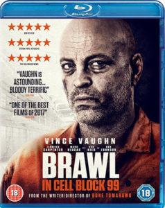 Brawl in Cell Block 99 review Blu-ray Cover