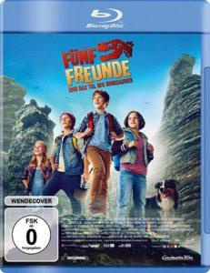 Fünf Freunde und das Tal der Dinosaurier Blu-ray Cover