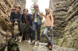 Fünf Freunde und das Tal der Dinosaurier Szenenbild