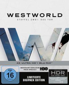 Westworld: Das Tor - Staffel 2 Steelbook Blu-ray