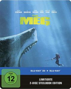 Meg Limited Steelbook Edition Blu-ray