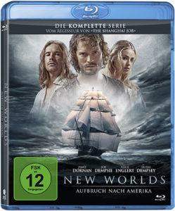 New Worlds - Aufbruch nach Amerika Blu-ray Cover