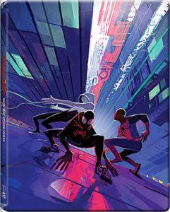 Spider-Man a new universe Cover Steelbook