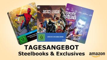 Tagesangebot Amazon.de Deal Steelbooks und Exclusives