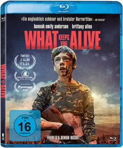 What keeps you alive Blu-ray Cover