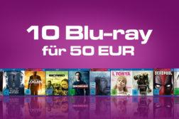 10 Blu-ray für 50 Eur Amazon.de Deal Artikelbild
