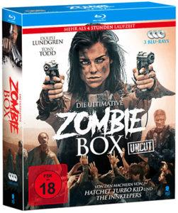Die ultimative Zombie-Box Blu-ray Cover