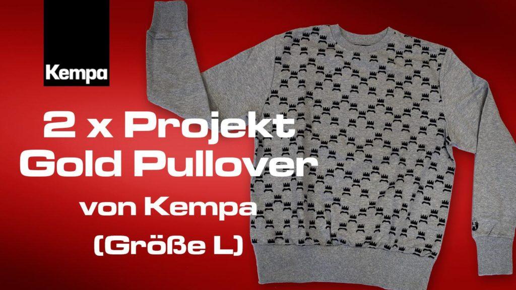 Zwei Pullover Kempa Projekt Gold Handball WM gewinnen