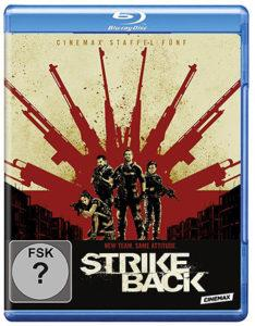 Strike Back Staffel 5 Blu-ray Cover
