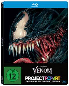 Venom Limited Steelbook Edition-Blu-ray Cover