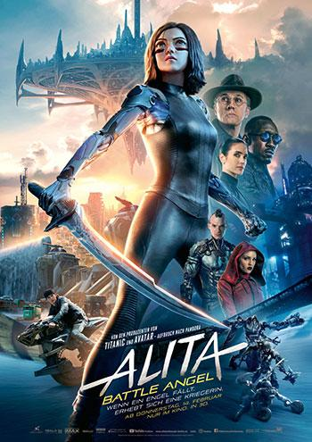 Alita Battle Angel Kino Review Plakat