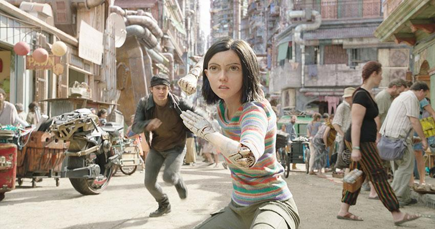 Alita Battle Angel Kino Review Szenenbild