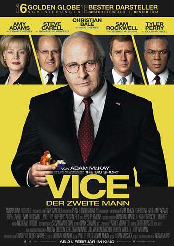 Vice der zweite mann kino Plakat