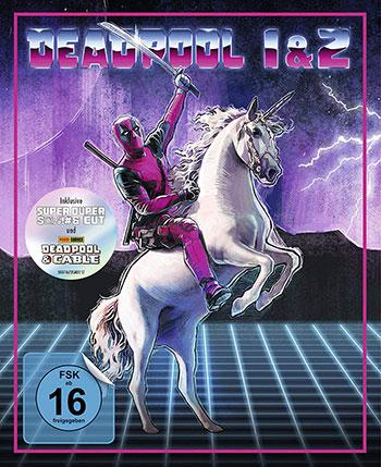 Amazon.de Deal Deadpool 1+2 Limited Unicorn edition cover