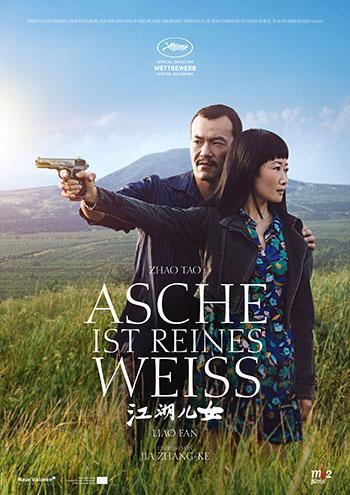 Asche ist reines Weiß Kino Plakat