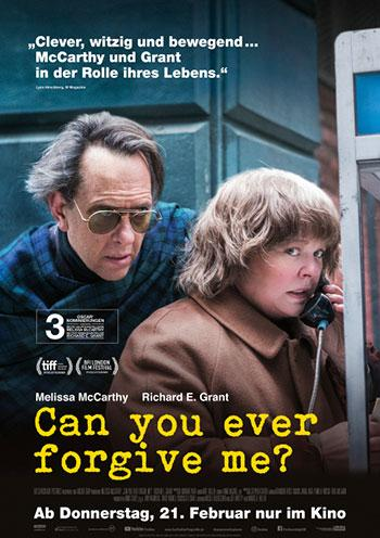 Can you ever forgive me Kino Plakat