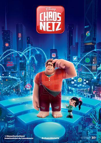 Chaos im Netz Kino Review Plakat