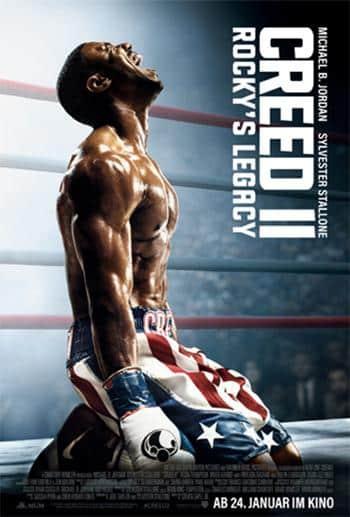 Creed 2 Rockys Legacy Kino Review Plakat