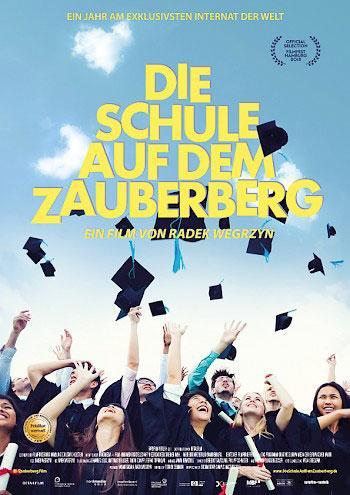 Die Schule auf dem Zauberberg Kino Plakat