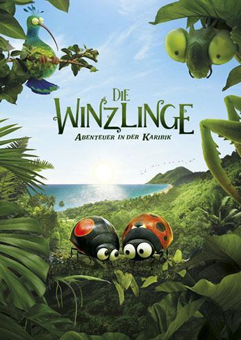 Die Winzlinge - Abenteuer in der Karibik Kino Plakat