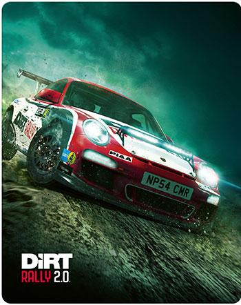 Dirt Rally 2.0 PS4 Review Steelbook Cover