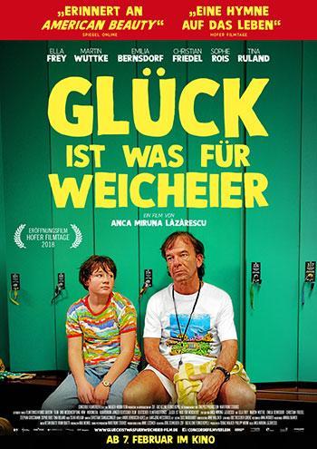 Glück ist was für Weicheier Kino Plakat