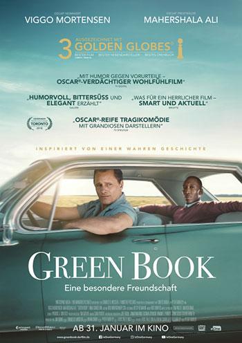 Green Book Eine besondere Freundschaft Kino Plakat