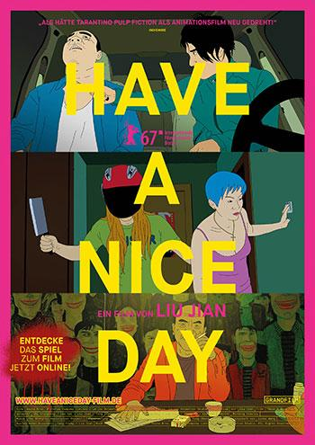 Have a nice day kino Plakat