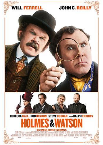 Holmes & Watson Kino Plakat