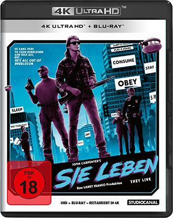 Sie Leben 4K UHD Review Blu-ray Cover