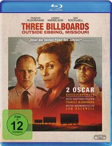 Three Billboards Outside Ebbing Missouri Blu-ray Review Cover