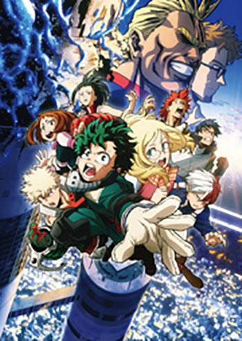 My Hero Academia: Two Heroes Kino Plakat