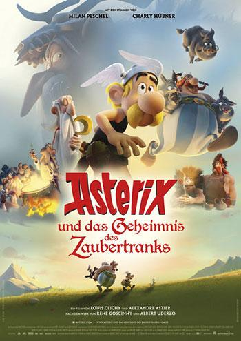 Asterix und das Geheimnis des Zaubertranks Kino Plakat