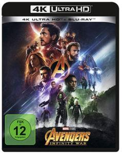 Avengers Infinity War Blu-ray Review Cover 4k