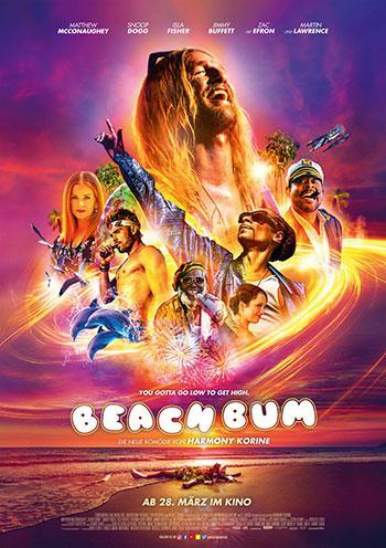 Beach Bum Kino Plakat