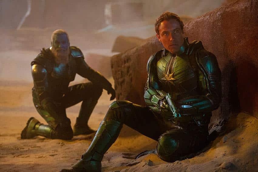 Captain marvel Kino Review Szenenbild