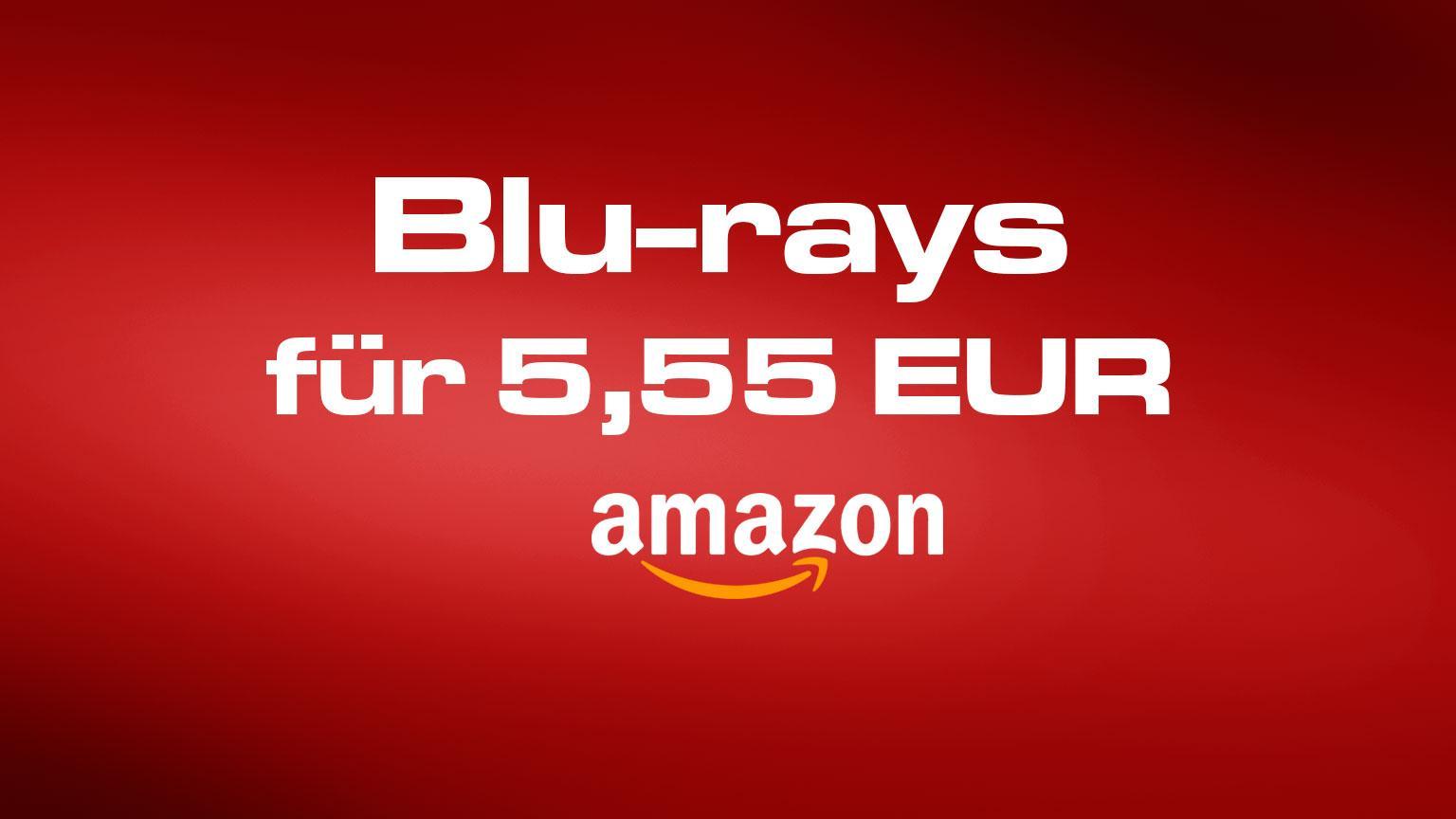 Amazon.de Deal Blu-rays für 5,55 EUR Artikelbild