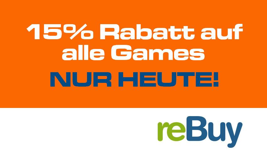 Deal reBuy 15 % auf Games Artikelbild
