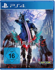 Devil May Cry 5 PS4 Review Cover