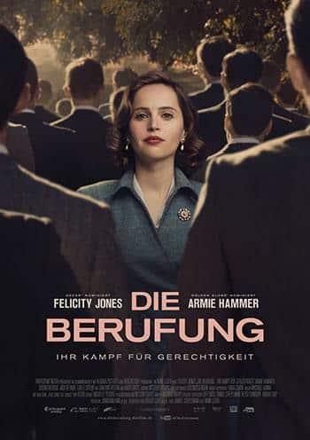 Die Berufung - Ihr Kampf für Gerechtigkeit Kino Plakat