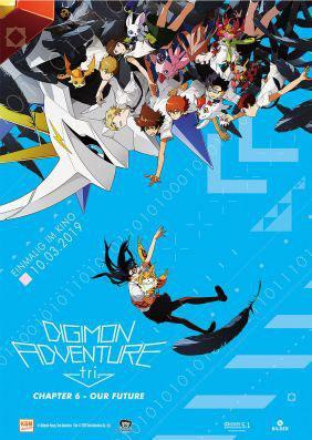 Digimon Adventures Trilogie Chapter 6 Kino Plakat