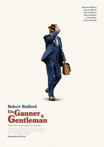Ein Gauner und Gentleman Kino Plakat