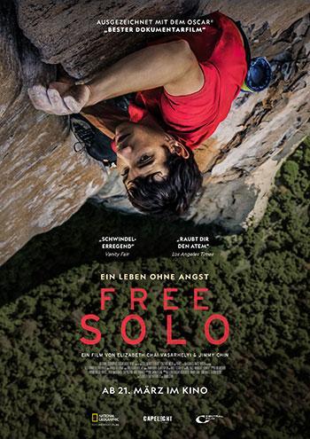 Free Solo Kino Plakat