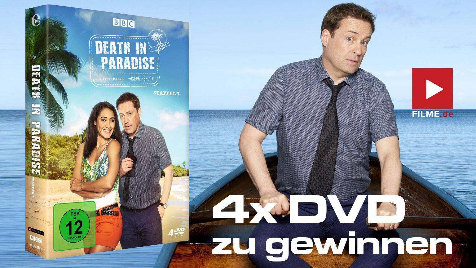 Gewinnspiel Death in Paradise Staffel 7 DVD BOX Artikelbild