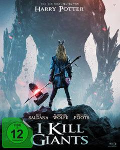 I kill Giants Blu-ray Review Cover