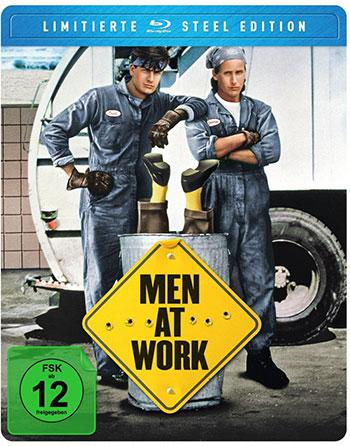 Men at Work Blu-ray Review Cover